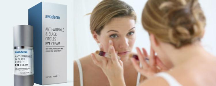 Effets de l'application Awaderm eyes cream. Les effets secondaires peuvent-ils?