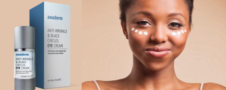 Avis d'utilisateurs de Awaderm eyes cream. Commentaires sur le forum