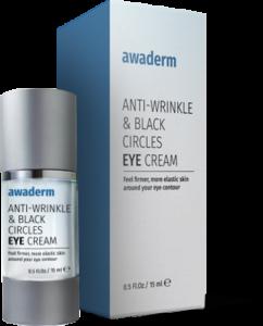Ce qui est Awaderm eyes cream? Comment fonctionne? Comment appliquer?