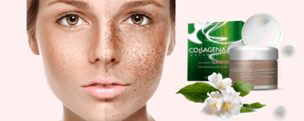 Combien de temps faut-il pour voir l'effet Collagena Lumiskin? Y a-t-il des effets secondaires? Quelle composition?