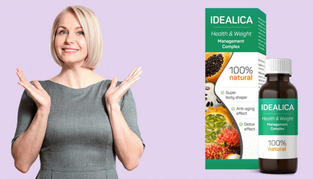 Essayez Idealica et perdez du poids sans l'effet yo-yo!