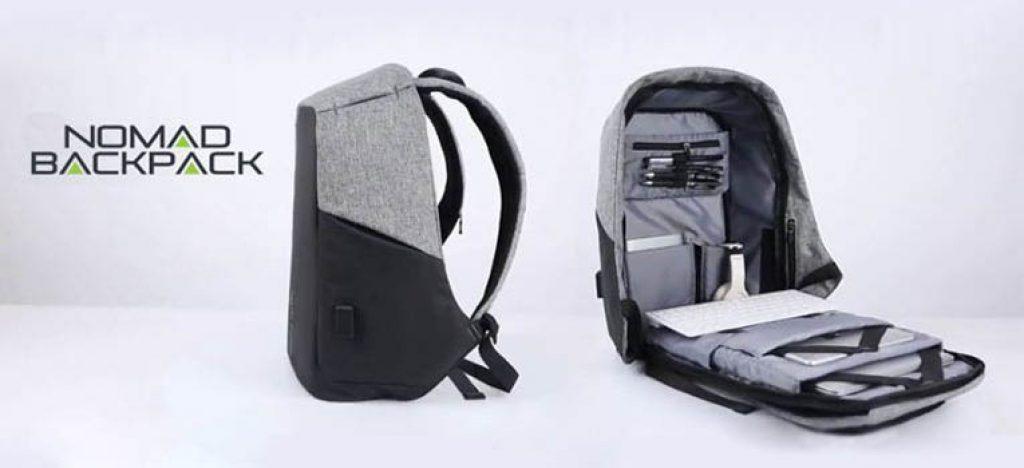 Les matériaux durables, dont Nomad Backpack prix a été créé, résisteront au poids jusqu'à 20 kg!