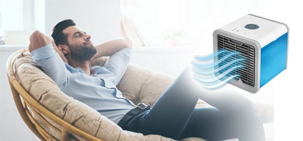 Refroidissement portable, faible coût et pas de montage, vérifiez CoolAir test