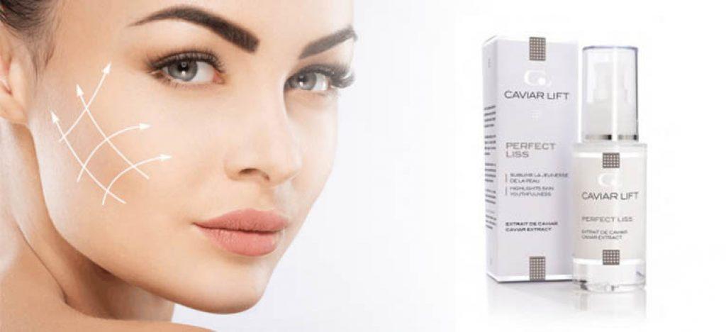 Comment fonctionne Caviar Lift serum sur la peau mature?