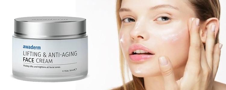 Effets de l'application Awaderm Face Cream. Les effets secondaires peuvent-ils?