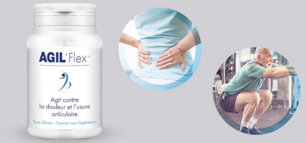 Effets de l'utilisation de Agil Flex en pharmacie?