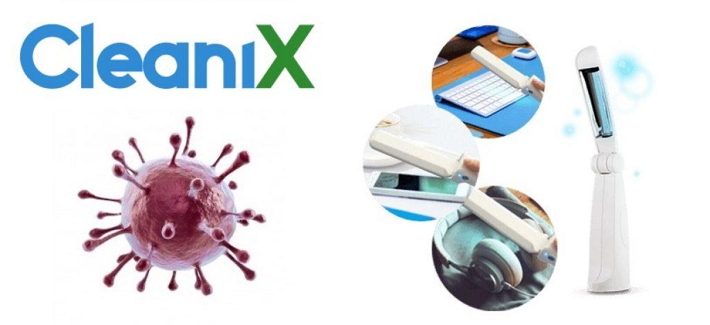 Comment fonctionne CleaniX? Lutte contre les bactéries, les virus, les polluants